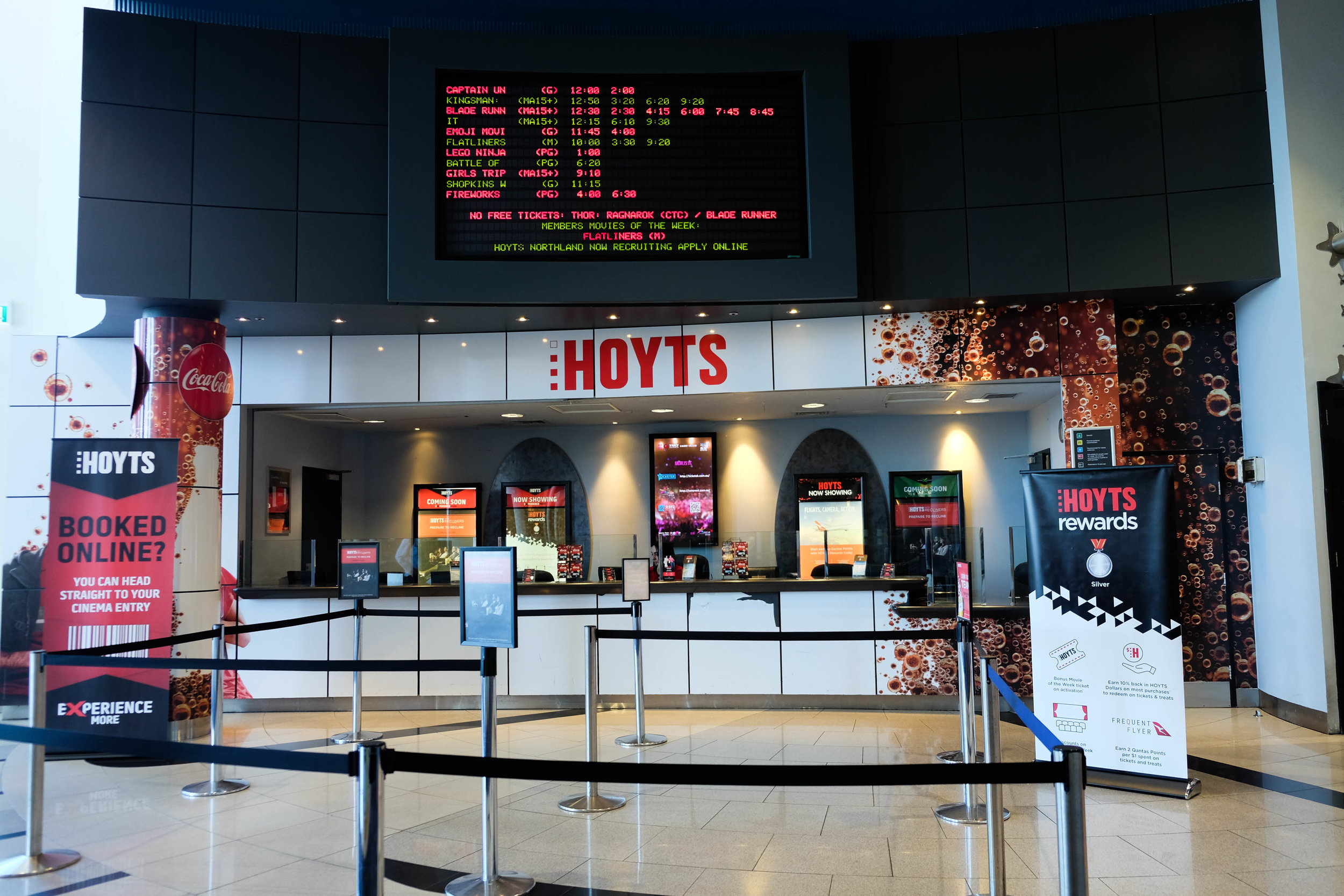 hoyts, northland — mamma knows north